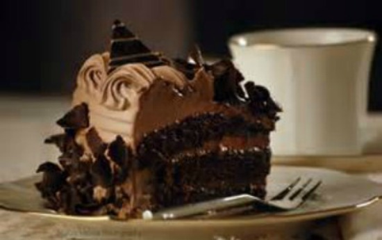 Piece of Chocolate Cake - larger pic