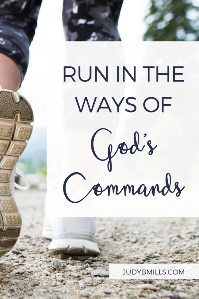 Sprint! Run as fast as you can back to the commands of God by running to the Word of God. Bible study lessons from the books of 2 Corinthians, John, Exodus, Psalm. 52 Ways to Glorify God by Judy Mills.