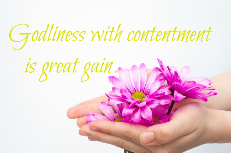 Godliness with Contentment, zinnas