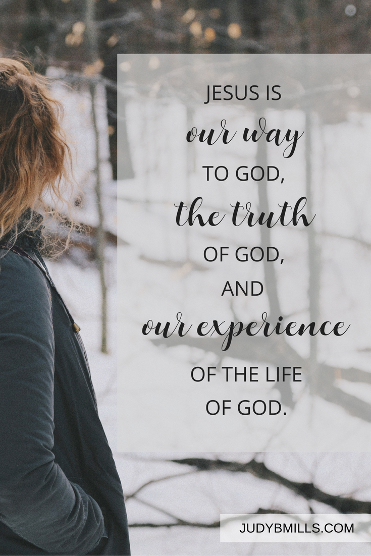 Jesus is our way to God, the truth of God and our experience of the life of God. Bible study lessons from the book of John.
