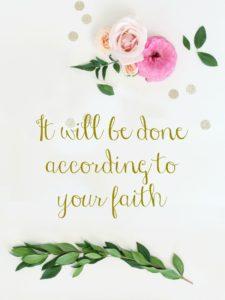 Seeing life through the eyes of faith
