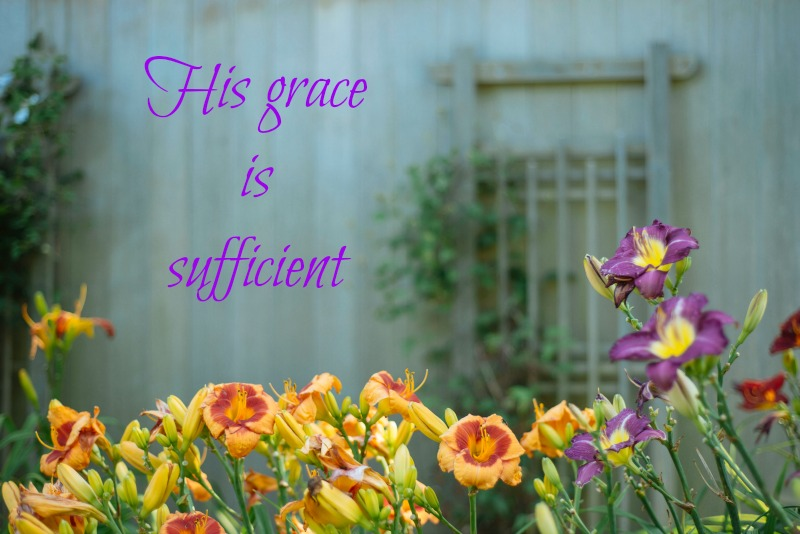 Blog post- His grace is