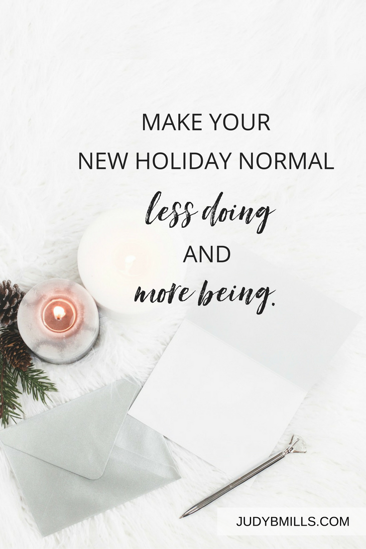 Plan now during the holidays so you'll have no regrets in the new year. Make your new holiday normal be less about doing, and more about being in the presence of God. Bible study lessons from the books of Matthew and Psalms.